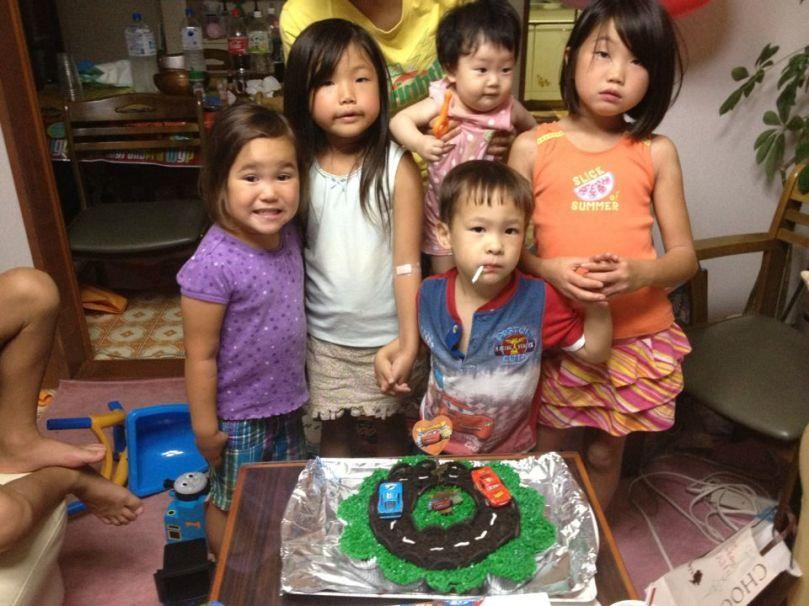 Ian's birthday3rd